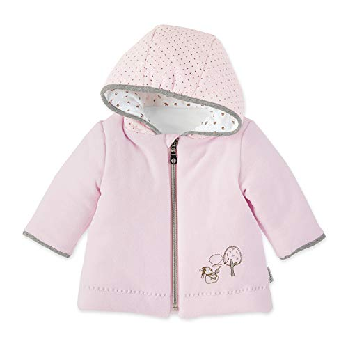 Sterntaler Kapuzen-Jacke Nicki Waldis Hoppel für Babys, Alter: 0-2 Monate, Größe: 50, Rosa (1 Kapuzen-jacke)