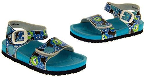 Garçons Disney monstres Université d'été des sandales, Sz, garçons, enfants, Taille 22,23,24,25,26,27 Bleu