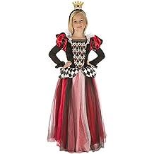 My Other Me - Disfraz Reina de corazones para niña, 10-12 años (Viving Costumes 204112)