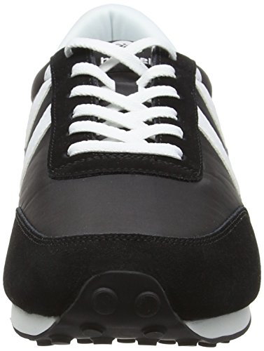 Hummel Seventyone Lo, Baskets Basses Unisexe Adulte Noir - Black (Black 2001)