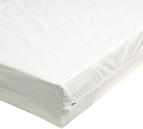 TAURO 24543 Matratzen-Bezug gegen Milben | Anti-Allergie Matratzenschoner | Bettbezug bei Hausstauballergie | Höhe 16 cm | 100 x 200 cm
