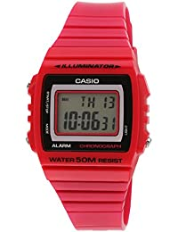 CASIO 19818 SHN-4020D-4A - Reloj Señora cuarzo brazalete metálico dial rojo