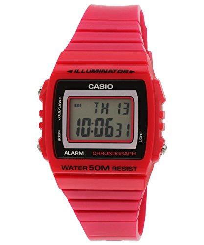 CASIO 19818 SHN-4020D-4A – Reloj Señora cuarzo brazalete metálico dial rojo