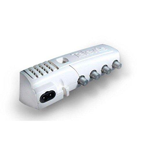 Televes 552240 Amplificador con Filtro para LTE 2 SALID + TV