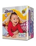 #10: Libero Medium Size Open Diaper ( 10 Counts ) Pack of 4