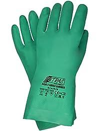 12 Paar Nitras GREEN BARRIER 3450 Nitrilhandschuhe, grün