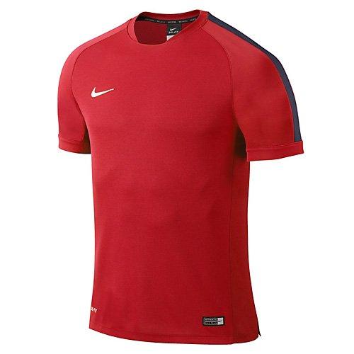 Nike Kinder T-shirt Flash Squad 15, red, L, 646401-662 (Kurzarm-shirt Junior)