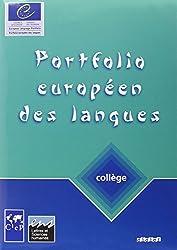 Portfolio européen des langues, collège : Cahier et passeport
