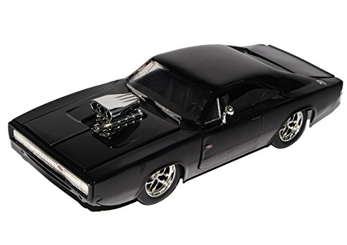 Dodge Charger R/T Dom´s Muscle Cars Coupe Schwarz Fast and Furious 7 1970 1/24 Jada Modell Auto