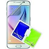 Caseit Housse de protection avec film de protection d'écran Anti-rayures pour Samsung S6 (Lot de 2)