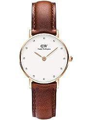 Daniel Wellington Damen-Armbanduhr Analog Quarz Leder DW00100059