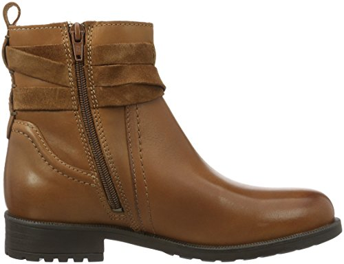 Marc O'Polo Flat Heel Bootie - Bottines femme Marron (Cognac 720)