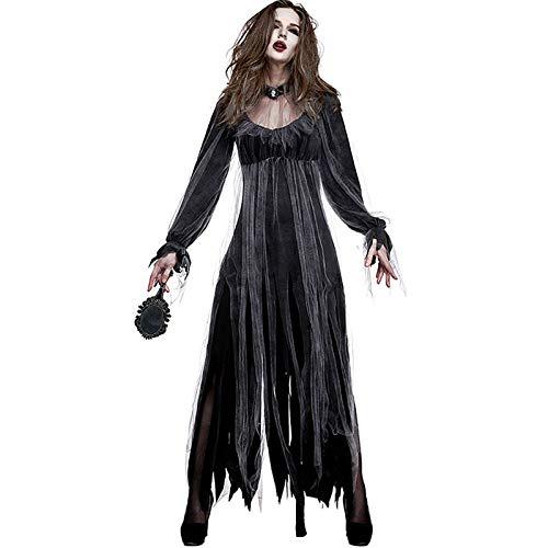 FHSIANN Halloween Kleid für Frauen Horror Fancy