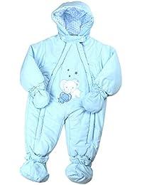 BabyPrem Bébé Combinaison De Neige Ski Filles Garçons Hiver Vêtements éléphant 9 - 23 Mois (74-96cm)