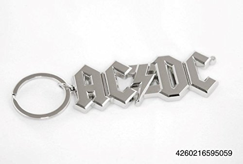 """Preisvergleich Produktbild Ac/Dc Schlüsselanhänger """"Logo"""""""