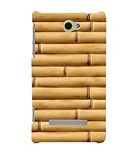 EPICCASE Bamboo wall Mobile Back Case Cover For HTC Windows Phone 8S (Designer Case)
