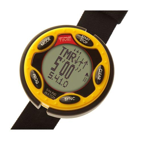 Optimum Time OS Series 14 Rechargable Sailing Watch Yellow 1455