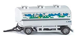SIKU 1972 - Colgante para Carro de Recogida de Leche, Auto- y Modelos de tráfico