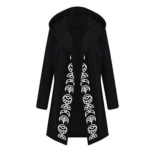 Steampunk Damen Bluse UFODB Frauen Hoodies Gothhic Vintage Pulli Pullover Sweatshirt Kapuzenpulli Slim Fit Oberteile Langarmshirts Mit Kapuze Kapuzenpullover ()