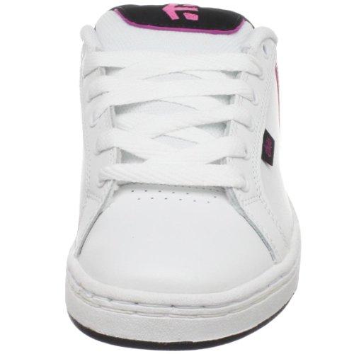 Etnies Fader, Scarpe da skateboard donna Whit/Light Pink