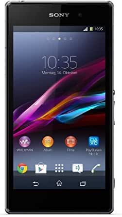 Sony Xperia Z1 Smartphone (5 Zoll (12,7 cm) Touch-Display, 16 GB Speicher, Android 4.2) schwarz