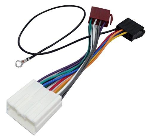 Auto Eclipse Radio (Aerzetix - E7 ISO-Konverter - Adapter - Kabel Radioadapter Radio Kabel Stecker ISO-Kabel Verbindungskabel)