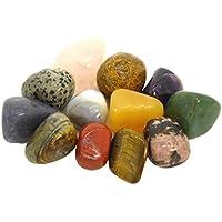 METAVIO 12 Stück ausgewählte natürliche Edelsteine im Beutel | Farbenfrohes Steine-Set zum Sammeln und Entdecken... preisvergleich bei billige-tabletten.eu