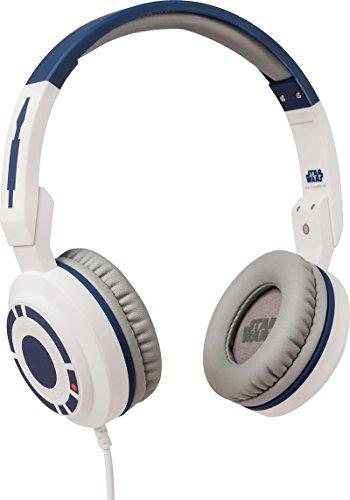 Star Wars Stereo On-Ear Kopfhörer mit Mikrofon und Lautstärkeregler für Handy - R2D2, Tribe HPW10707