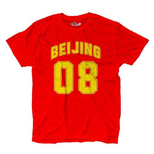 Land Swag (T-Shirt manner Peking Beijing 08 Red 1 M)