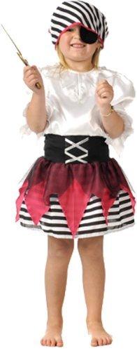 Girls Pirate Fancy Dress Book Week oder Halloween-Kostüm 5-7 Jahre [Spielzeug]