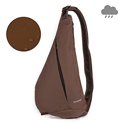VITCHELO Sling Backpack. Waterproof Sling Bag With 2 Safe Pockets, Adjustable Strap, Padded Interior & Quality Zippers. Excellent Sling Rucksack for Wilderness & Urban Use. Suitable for Men & Women