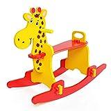 Montage Schaukelpferd Massivholz Für 2-5 Jahre Baby Neues Jahr Vorhanden Kind Gleichgewichtstraining Schaukelspielzeug (Farbe : A)