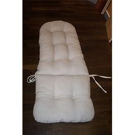 Coussin pour chaise à bascule lin»
