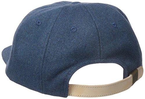 Glen Herschel wood 1024 uomo baseball-tappo Ink Blue Wool