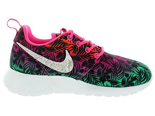 Nike Rosherun Print Multi Youths Trainers Multicolore