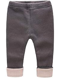 ad66fdd79a Baby Mädchen Leggings Lang Hosen Winter Sweathosen Jogginghose Baumwolle  Bekleidung 3-24 Monate
