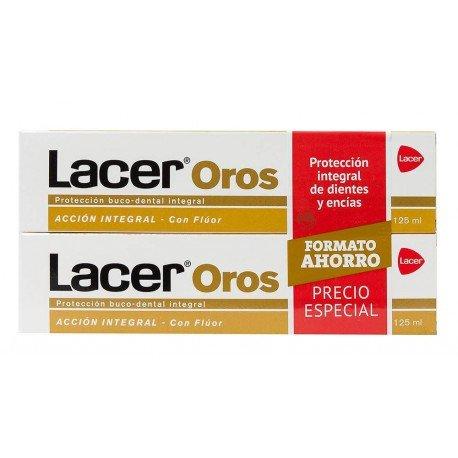 LACER Oros Pasta Dental Acción Integral Duplo 125