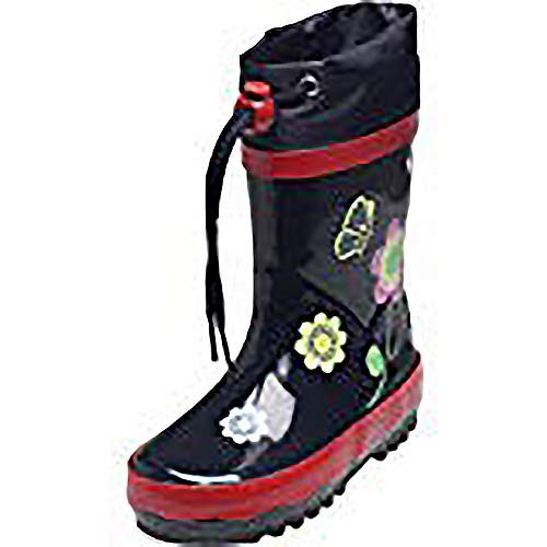 Playshoes Schoene Flower Wellies Wellington Boots Blue