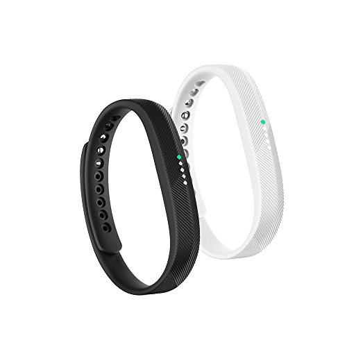 Fit-power Fitbit Flex 2 Armband, weiches Silikon-Ersatzarmband, Armband mit Metallverschluss, Armband für Fitbit Flex 2Fitness-Aktivität-Tracker, 2A, S