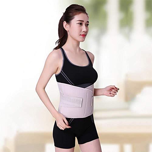 HYD Taillen-Trainer-Gürtel für Frauen, atmungsaktiver Schweißgürtel Taille Cincher Trimmer Body Shaper Gürtel Fat Burn Belly Slimming Band für Gewichtsabnahme Fitness Workout,B,L (Gürtel Fat Belly)