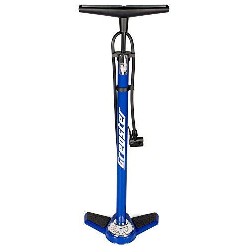 Gregster GR 2425 Bomba de Aire para Bicicleta Unisex Adulto Azul Talla Única