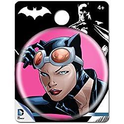 DC Comics Catwoman único botón Pin Figura de acción