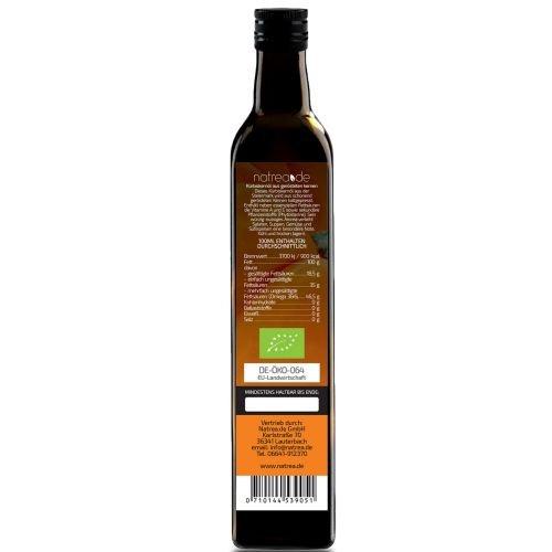 Natrea Bio Kürbiskernöl aus der Steiermark | kaltgepresst ✔ 100% reines BIO-Öl ✔ in 250 ml Lichtschutzflasche (1 x 0,25 l) - 2