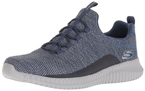 Skechers Herren Elite Flex- Westerfeld Sneaker, Blau (Navy/Grey Nvgy), 47.5 EU (Skechers-herren-loafer-schuhe)