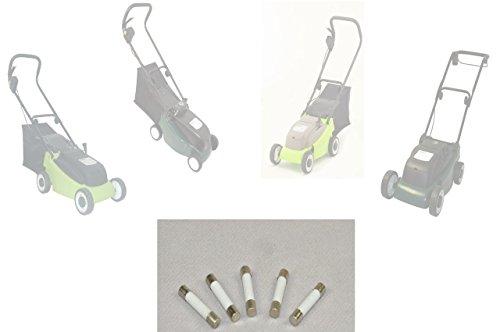 Sicherungen im 5er Pack für BARICUS Akku-Rasenmäher