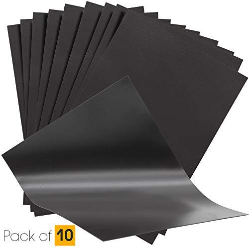The Magnet Shop Magnetplatten in A4 - flexible 0.4mm Magnete zur Aufbewahrung von Stanz- und Prägeschablonen & zum Basteln - 10er Set -