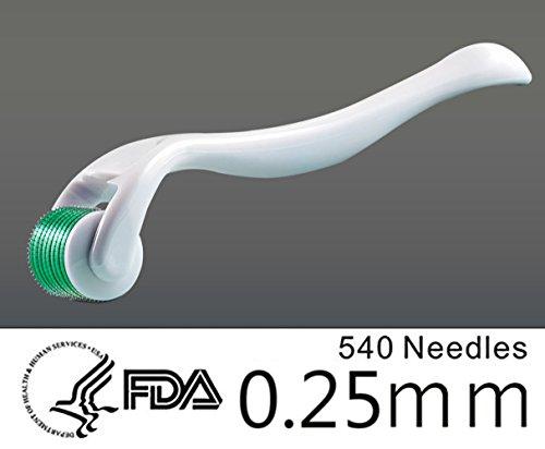 EPHVODI 540 Grün Micro Nadeln Derma Roller Haut Care Needle (0,25mm-1,5mm)