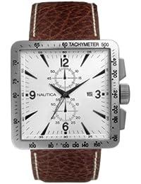 Nautica A17531 - Reloj de caballero - sumergible a 100 metros