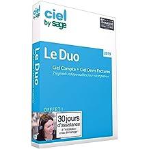 Le Duo Ciel 2015 (Ciel Compta 2015 + Ciel Devis Factures 2015)