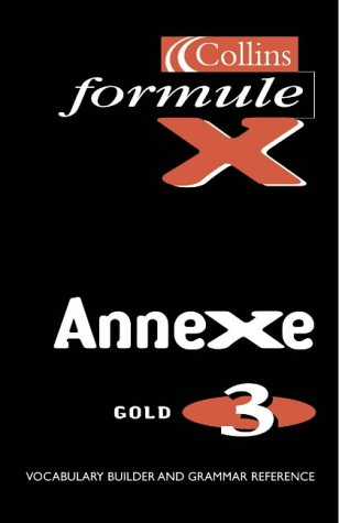 Formule X: Pocket Vocabulary Book Annexe level 3